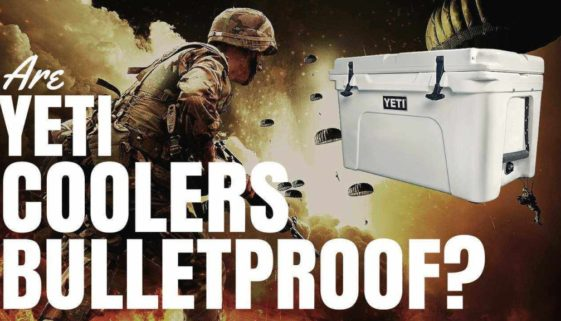 Are Yeti Coolers Bulletproof?