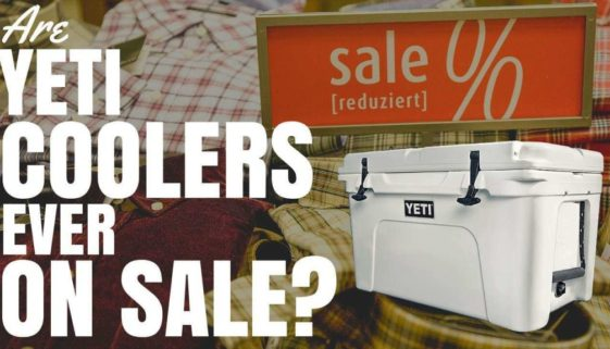 Are Yeti Coolers Ever On Sale?