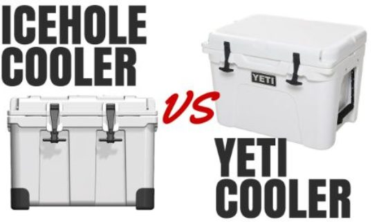 Icehole Cooler vs Yeti Cooler