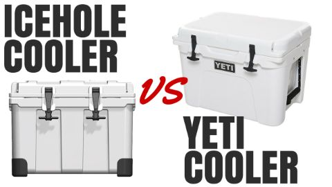 Icehole Cooler vs Yeti Cooler