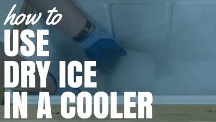 How To Use Dry Ice In A Cooler