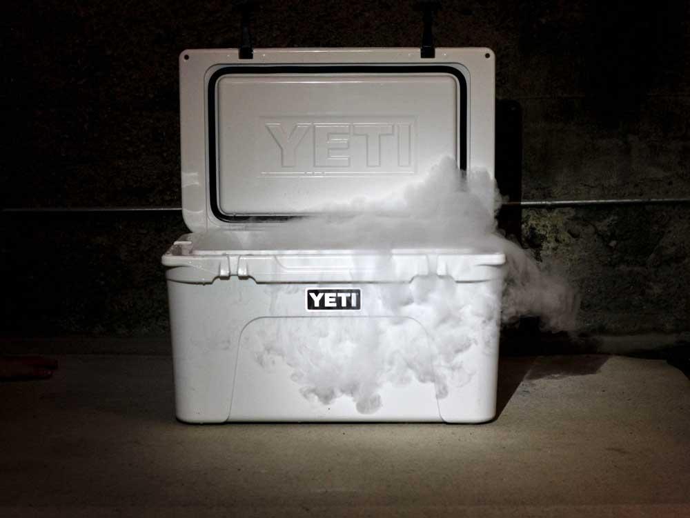 Dry Ice In Yeti Cooler