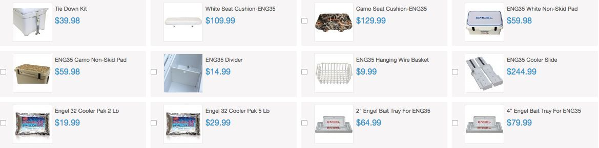 Engel Coolers Accessories