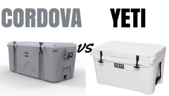 Cordova Cooler vs Yeti