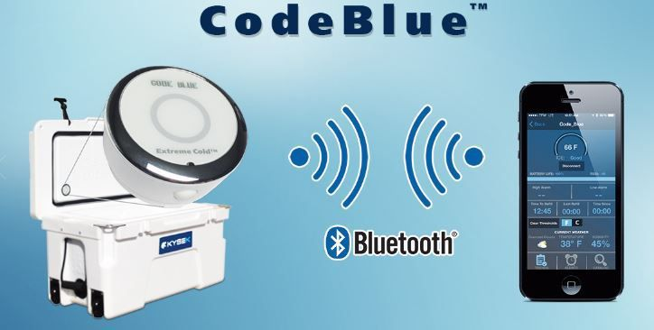 Kysek Cooler Codeblue Bluetooth Accessory