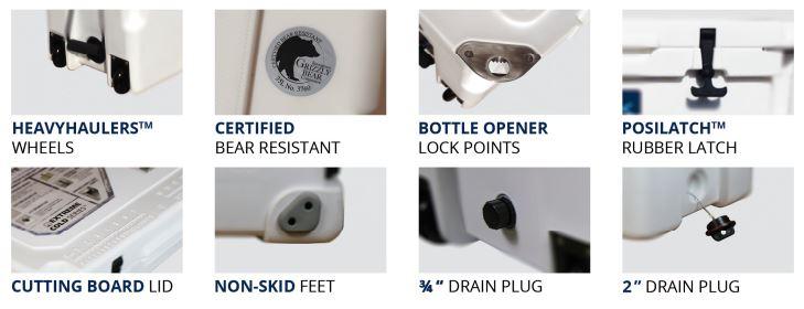 Kysek Cooler Features
