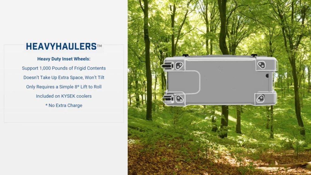 Kysek Cooler Heavy Hauler Wheels
