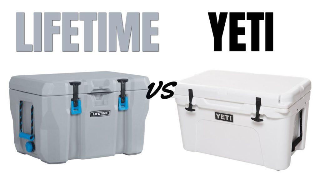 Lifetime Cooler vs Yeti