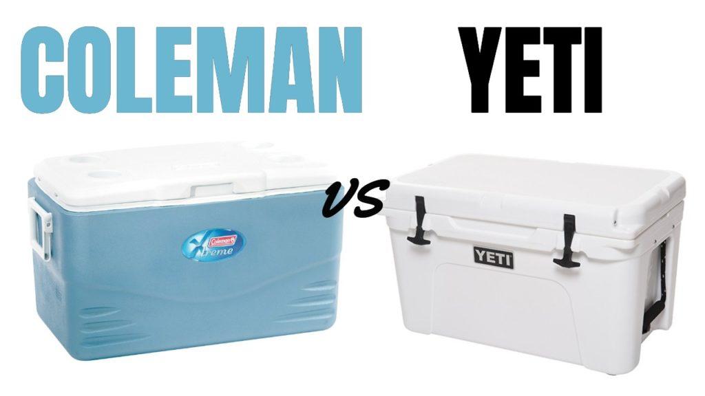 Coleman Xtreme vs Yeti Coolers