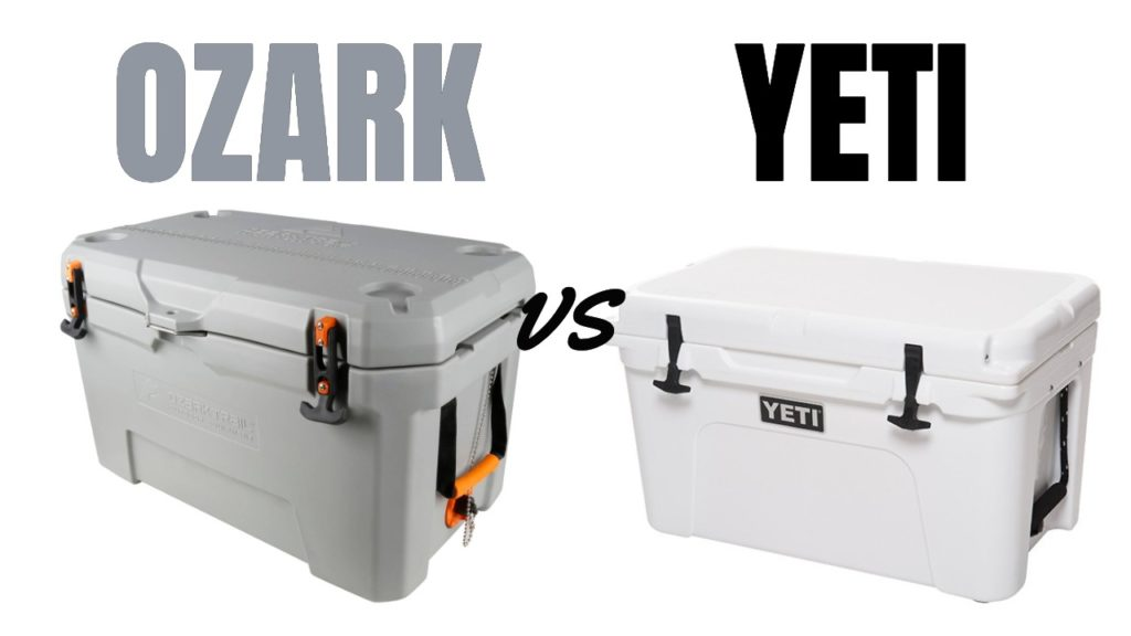 Ozark Coolers vs Yeti