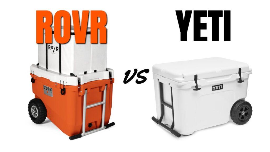 RovR Coolers vs Yeti