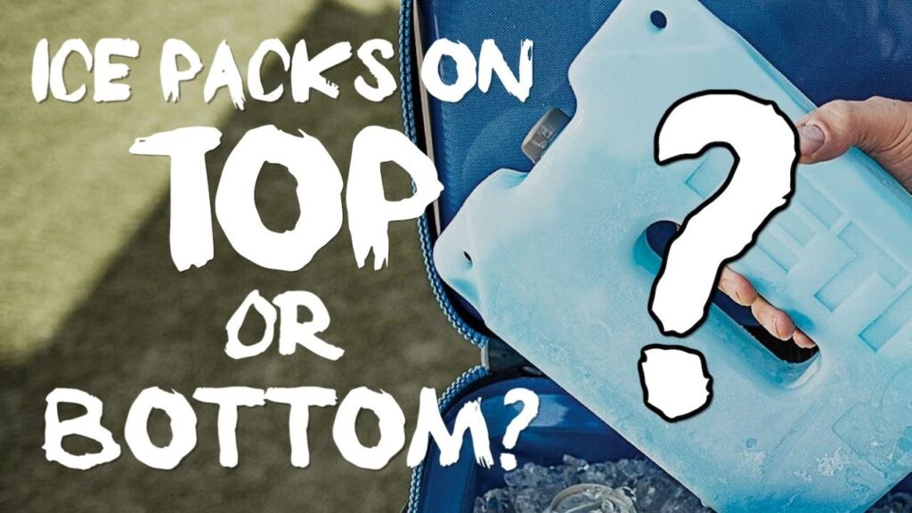 Do Ice Packs Go On Top or Bottom Of The Cooler?