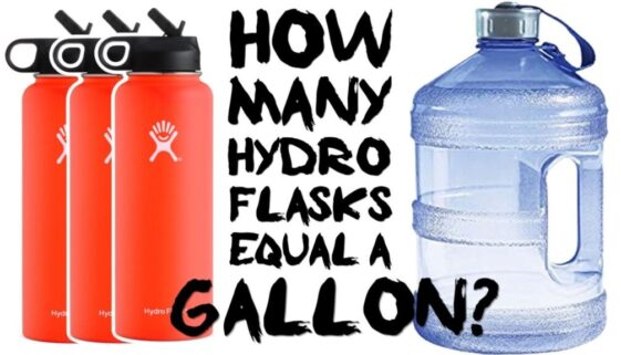 how-many-hydro-flasks-equal-a-gallon