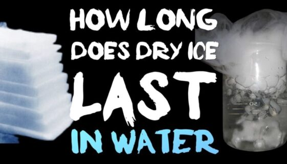 how-long-does-dry-ice-last-in-water