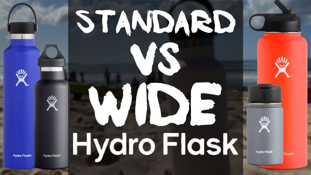 Standard Mouth vs Wide Mouth Hydro Flasks