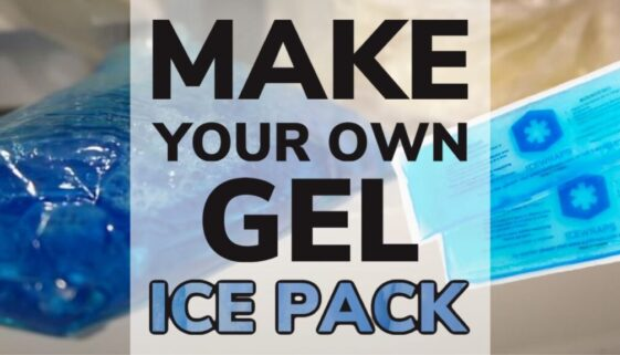 Make Your Own Gel Ice Pack