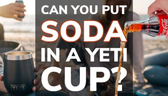 Can You Put Soda in a Yeti Tumbler Cup or Bottle?