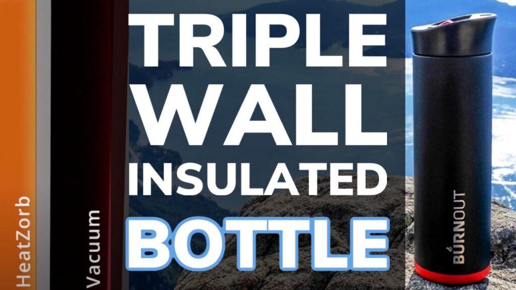 Triple Wall Insulated Water Bottle