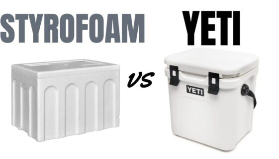 Styrofoam Cooler vs Yeti