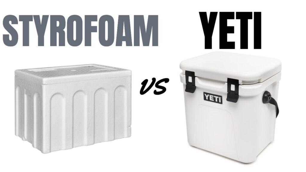Styrofoam Cooler vs Yeti