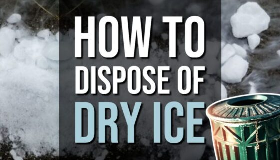 How To Dispose of Dry Ice
