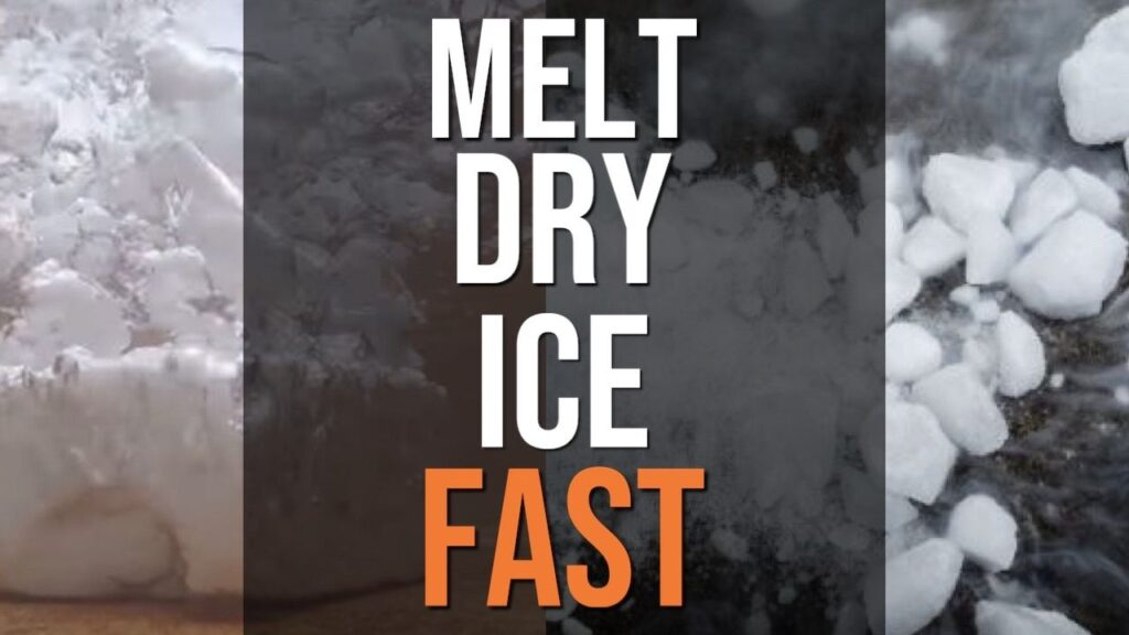 How To Melt Dry Ice Fast