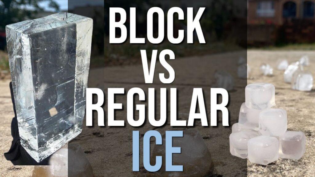 Does Block Ice Last Longer Than Regular Ice?