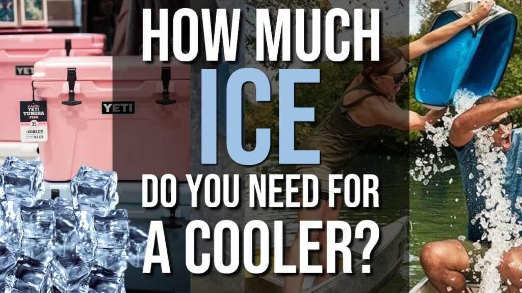 How Much Ice Do You Need For a Cooler?