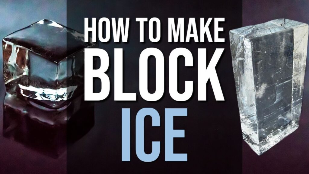 How To Make Block Ice