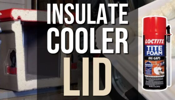 Insulate Cooler Lid
