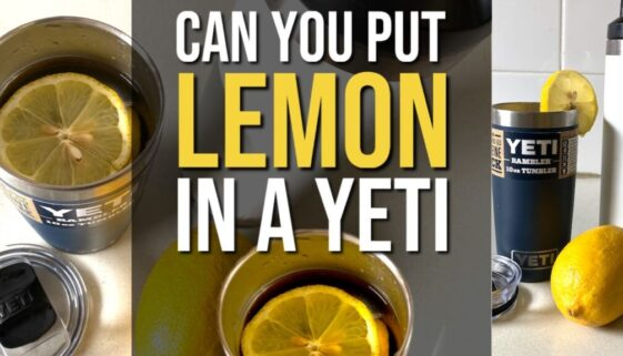 Can You Put Lemon in a Yeti