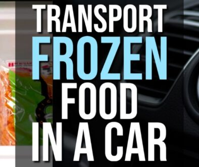 How to Transport Frozen Food in a Car