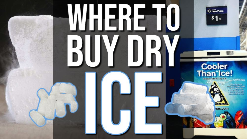 Where To Buy Dry Ice