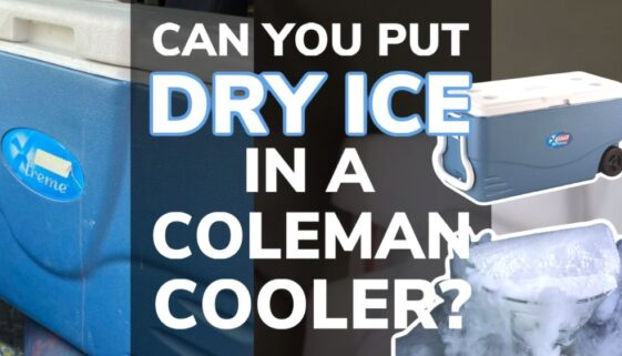 Can You Put Dry Ice in a Coleman Cooler?
