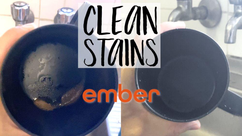 Clean Ember Mug Stains