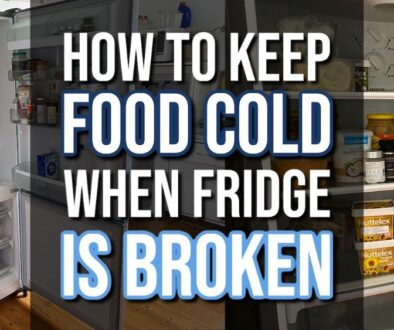 How to Keep Food Cold When Fridge Is Broken