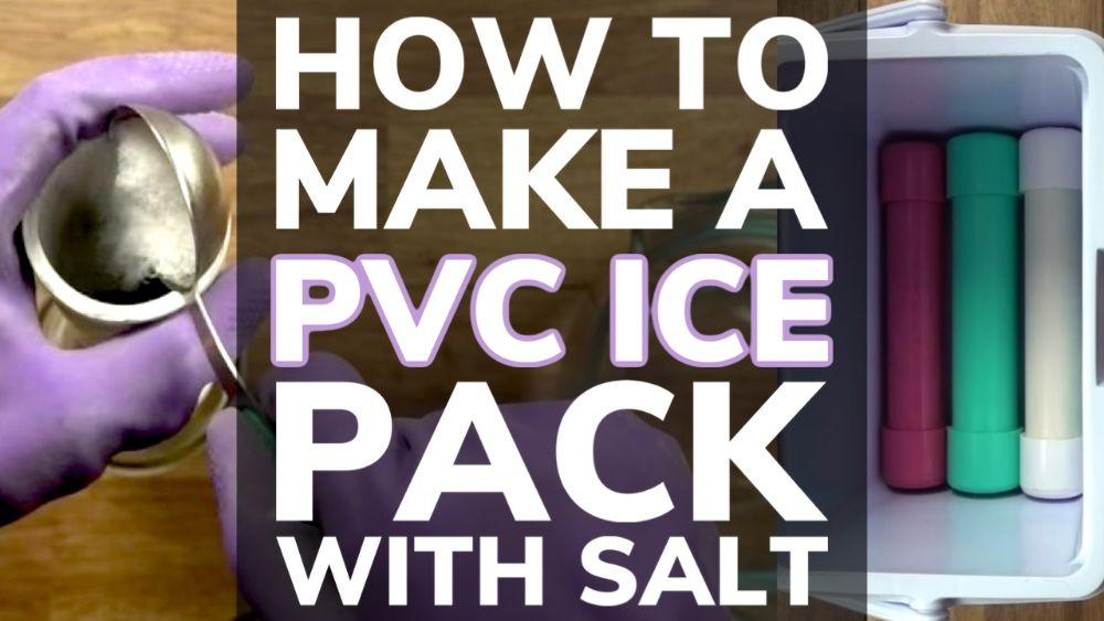 How To Make a PVC Ice Pack With Salt