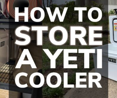 How To Store a Yeti Cooler Properly
