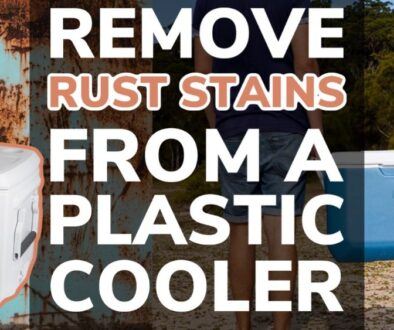 Remove Rust Stains From a Plastic Cooler