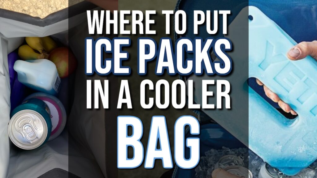 Where To Put Ice Packs In a Cooler Bag?