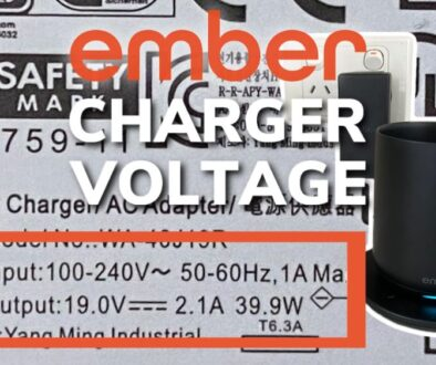 Ember Mug Charging Coaster Voltage, Amps and Watts Explained