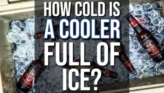 How Cold Is a Cooler Full Of Ice?