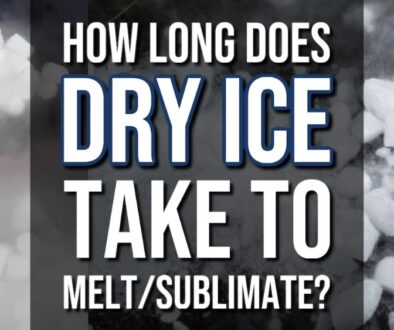 How Long Does It Take Dry Ice To Melt/Sublimate?
