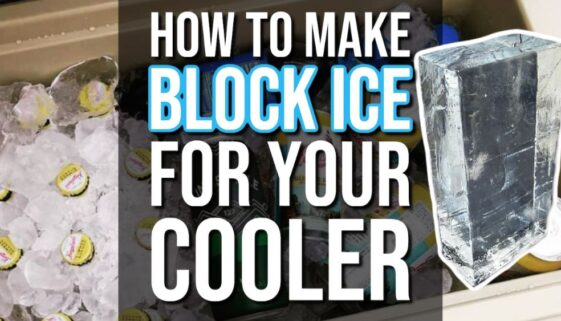 How To Make Block Ice For Your Cooler