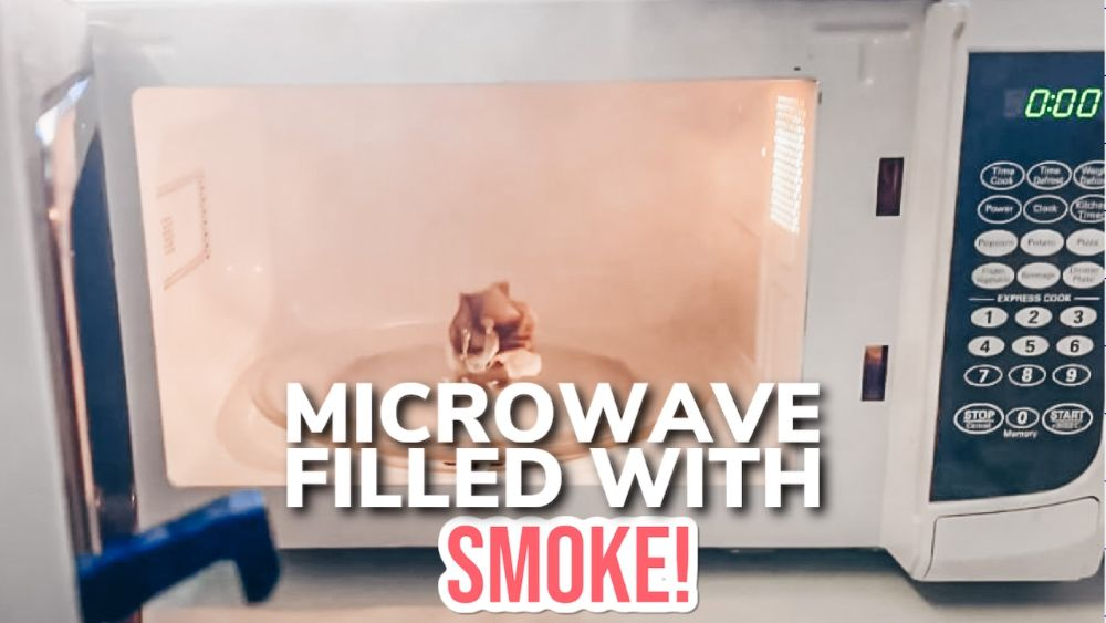 What To Do If Your Microwave Is Filled With Smoke