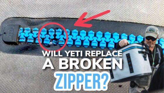 Will Yeti Replace A Broken Zipper?