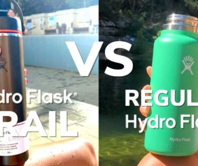 Hydro Flask Trail vs Regular