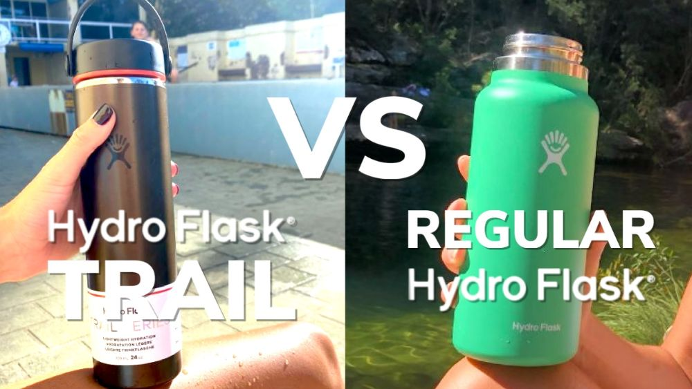 Hydro Flask Trail vs Regular