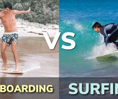 Skimboarding vs Surfing